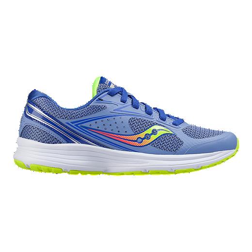 cf2b4c00 Saucony Women's Grid Azara 4 Running Shoes - Blue/Coral/Citrus | Sport Chek