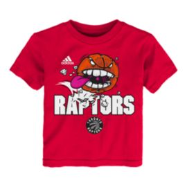 Toronto Raptors Toddler Angry Ball T Shirt
