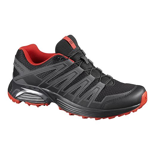 Salomon Men s Shigarri XT Trail Running Shoes   Black/Red