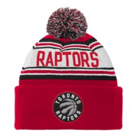 Toronto Raptors Toddler Cuffed Pom Knit