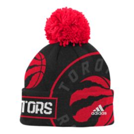 Toronto Raptors Kids' Tip Off Cuffed Pom Knit