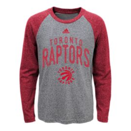 Toronto Raptors Kids' Pedigree Long Sleeve Raglan T Shirt