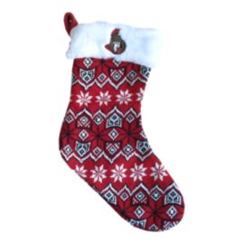 Ottawa Senators Aztec Knit Stocking