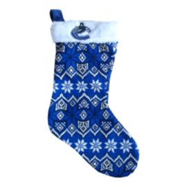 Vancouver Canucks Aztec Knit Stocking