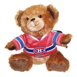 Montreal Canadiens 7.5 Inch Jersey Bear