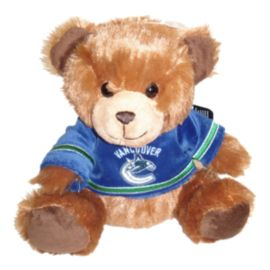 Vancouver Canucks 7.5 Inch Jersey Bear