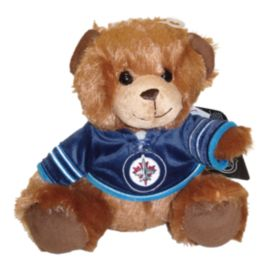 Winnipeg Jets 7.5 Inch Jersey Bear