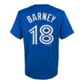 Toronto Blue Jays Kids' Darwin Barney Name & Number T Shirt