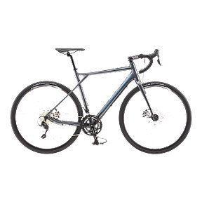 GT Grade Aluminum 105 Men's Gunmetal Road Bike - 2017