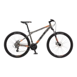 GT Aggressor Comp Men's 27.5 Gunmetal Mountain Bike - 2017