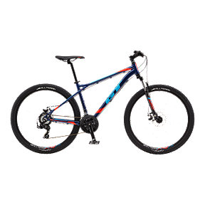 GT Aggressor Sport Men's 27.5 Navy Mountain Bike - 2017