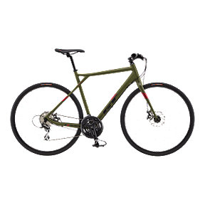 GT Grade Flat Bar Comp Men's Green Road Bike - 2017