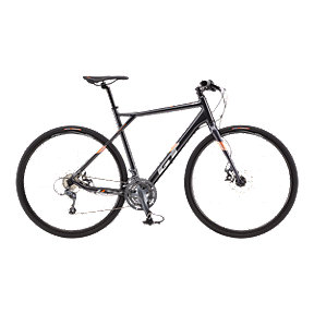 GT Grade Flat Bar Men's Elite Gunmetal Road Bike - 2017