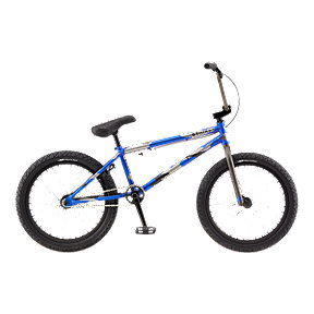 GT Team Signature Team Wise Men's 21.25 Blue Camo BMX - 2017