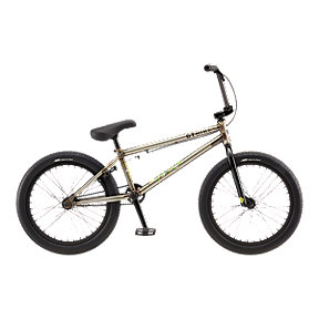 GT Team Phelan 20.5 Men's Raw Splat BMX - 2017