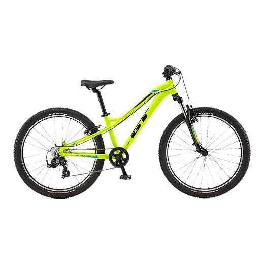 Gt Stomper Prime Kids 24 Neon Yellow Mountain Bike 2017 Sport Chek