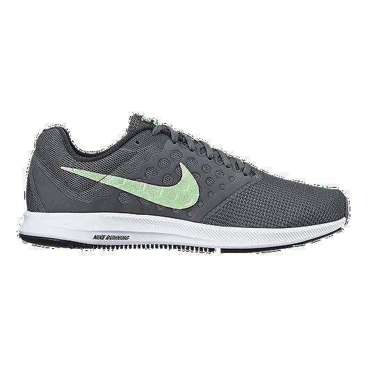 9ba86e0a901e Nike Women s Downshifter 7 Running Shoes - Grey Mint Green