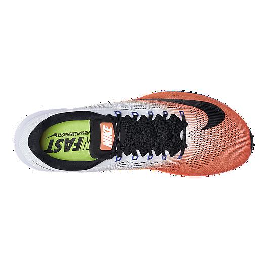 3582b429e1ec Nike Men s Air Zoom Elite 9 Running Shoes - Hyper Orange Light Grey ...