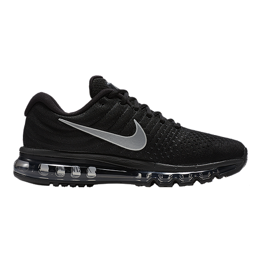 sale retailer ecd93 a97ce Nike Men s Air Max 2017 Running Shoes - Black Silver   Sport Chek