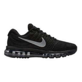Nike Men's Air Max 2017 Running Shoes - Black/Silver