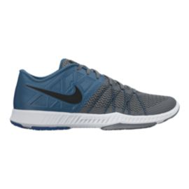 Nike Men's Zoom Train Incredibly Fast Men's Training Shoes - Blue/Grey