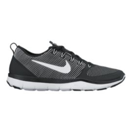 Nike Men's Free Train Versatility Training Shoes - Black/White