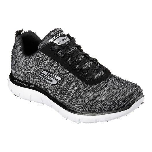 9e35205c896e Skechers Women s Flex Appeal 2.0 Walking Shoes - Black White