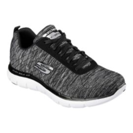 Skechers Women's Flex Appeal 2.0 Walking Shoes - Black/White