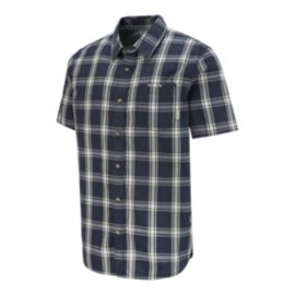 Vans Men's Stafford Short Sleeve Plaid Shirt