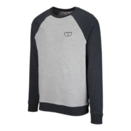Vans Men's Rutland II Crew Sweatshirt - Cement Heather/Black Heather