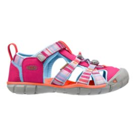 Keen Girls' Seacamp II CNX Preschool Sandals - Bright Rose Raya