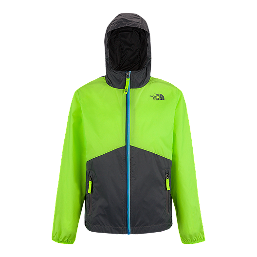 4a01a120e The North Face Boys' Flurry Wind Hooded Jacket | Sport Chek