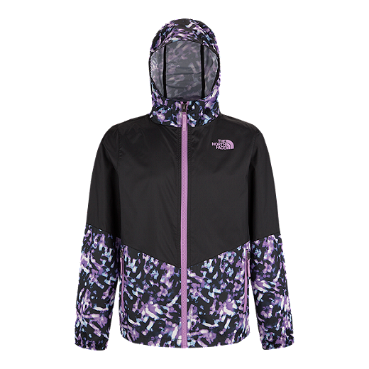 797ae50b7 The North Face Girls' Flurry Wind Hooded Jacket   Sport Chek