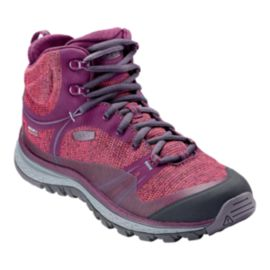 Keen Women's Terradora Mid Waterproof Hiking Boots - Dark Purple