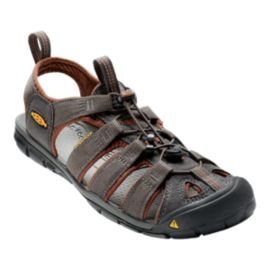 Keen Men's Clearwater CNX Sandals - Brown/Black