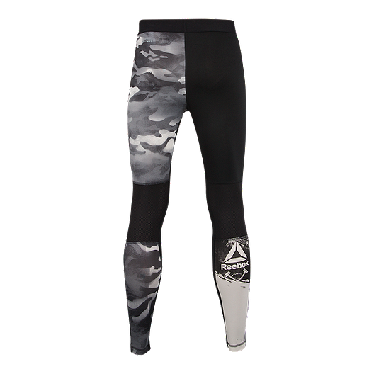 9a9e9dafbc357 Reebok Men's Ost Spray Camo Compression Tights | Sport Chek