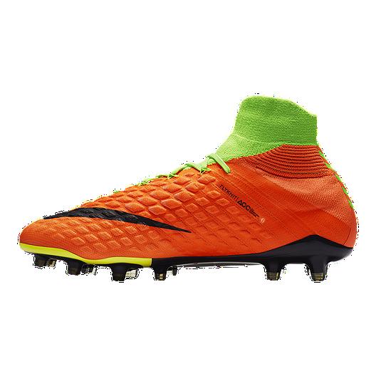 dcc1dcb0266e Nike Men s HyperVenom Phantom III FG Outdoor Soccer Cleats - Volt  Green Black. (0). View Description