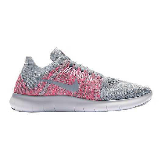 brand new 55a14 dee54 Nike Girls' Free RN FlyKnit Grade School Running Shoes ...