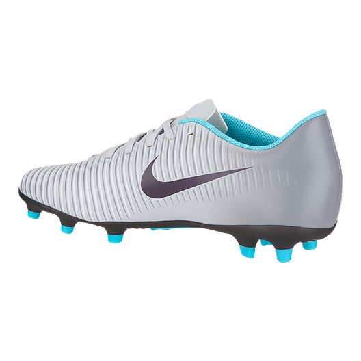 bebf60e8121c Nike Women s Mercurial Vortex III Outdoor Soccer Cleats - Grey Blue Black. ( 3). View Description