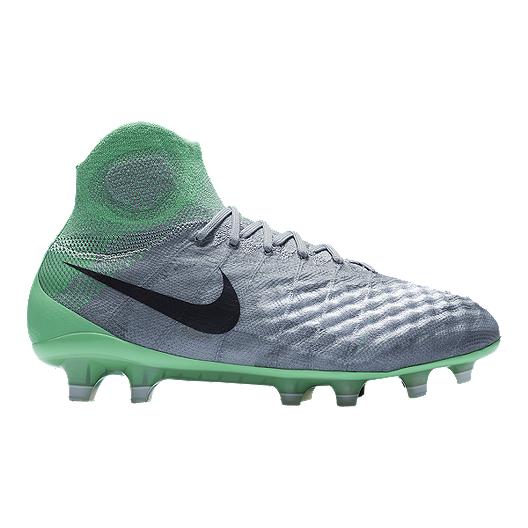 ccce92f6f2bd Nike Women s Magista Obra II FG Outdoor Soccer Cleats - Grey Teal Green