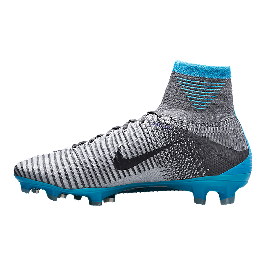 7800ad6e91da Nike Women s Mercurial Superfly V FG Outdoor Soccer Cleats - Grey Blue Black.  (0). View Description