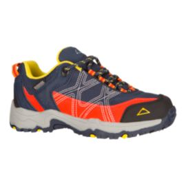 McKINLEY Kids' Kona II Low AQX Hiking Shoes - Black/Orange