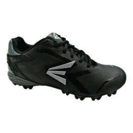Easton Men's Visceral TPU Baseball Cleats - Black/Silver