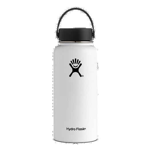 a3d657d7c5 Hydro Flask 32 oz Wide Mouth Water Bottle - White   Sport Chek