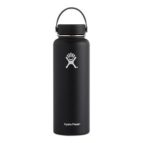 Hydro Flask 40 oz Wide Mouth Water Bottle - Black