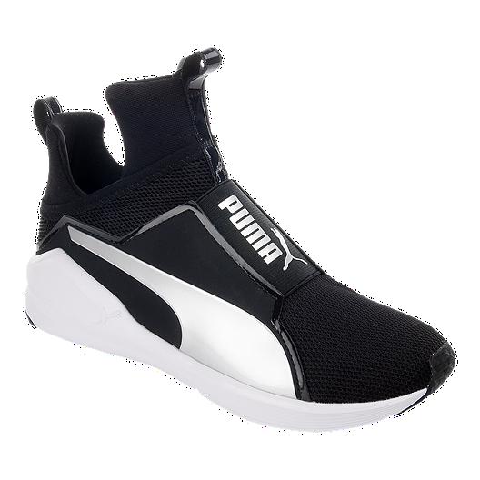 beca269686a PUMA Women s Fierce Core Shoes - Black White