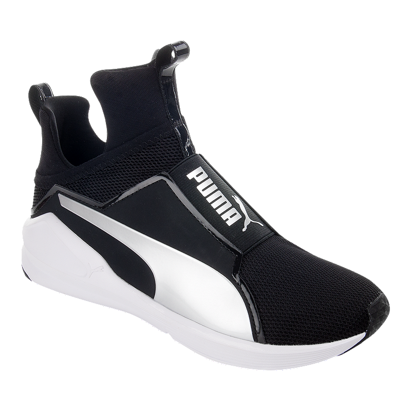 PUMA Women s Fierce Core Shoes - Black White  0e2c5e329