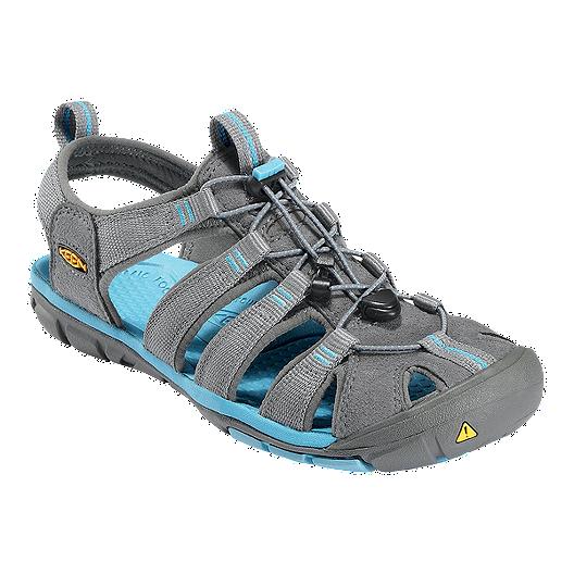 c970d2ef7ed4 Keen Women s Clearwater CNX Sandals - Gargoyle Blue