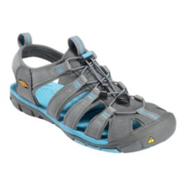 Keen Women's Clearwater CNX Sandals - Gargoyle/Blue