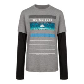 Quiksilver Stringer Boys' Long Sleeve Top